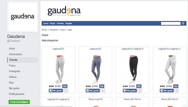 Gaudena Vende por Facebook