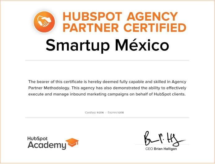 Smartup Partner HubSpot