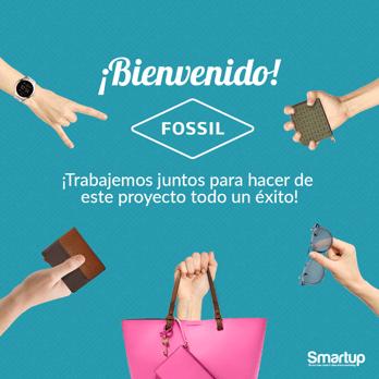 Bienvenido Fossil a Smartup MX